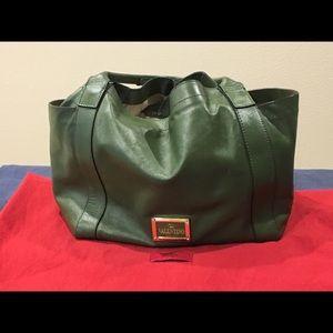 Valentino Double Pocket Nappa Bow bag